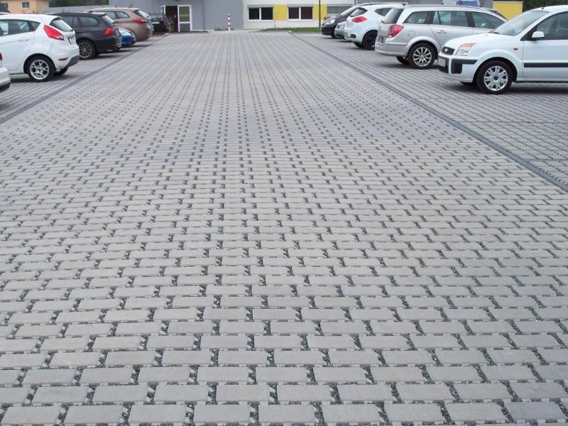 Parkplatz in Chemnitz