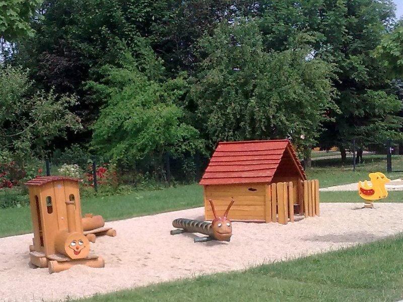 Spielplatz in Niederdorf<br>bei Stollberg