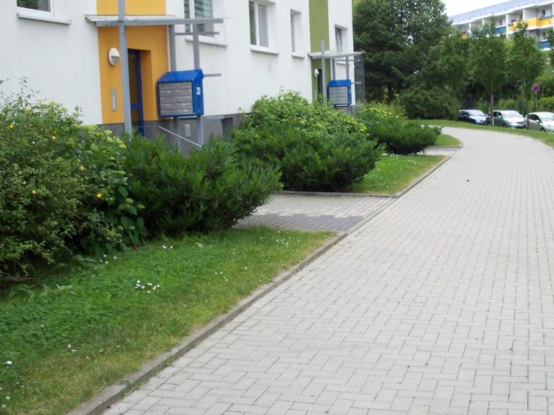 Außenanlagen WG-Einheit Chemnitz