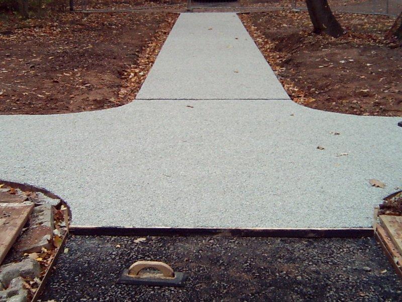 Wegebau mit Gussasphalt