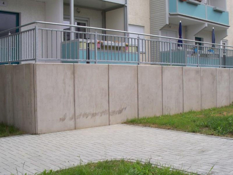 Außenanlage in Chemnitz