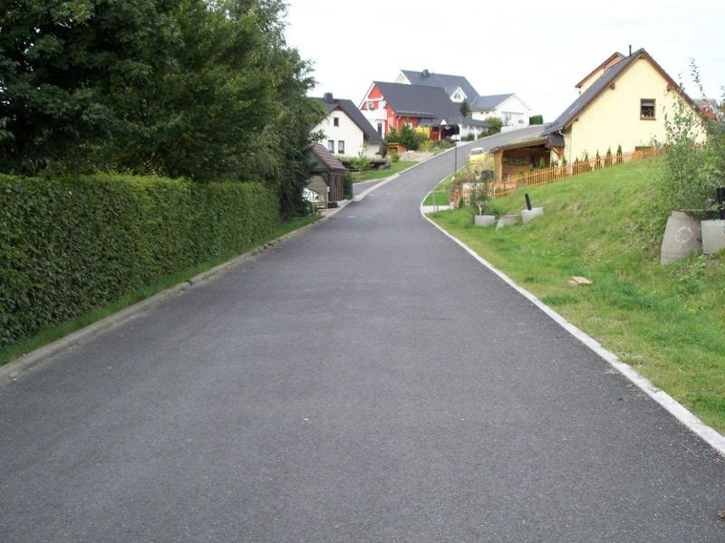 Straßenbau Wohngebiet <br>Am Geiersberg